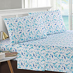 Harper Lane Kaui Tropical Mermaid Dance Microfiber Easy Care Sheet Set