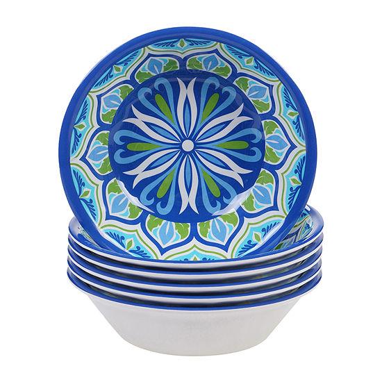 Certified International Morocco 6-pc. Ice Cream Bowl