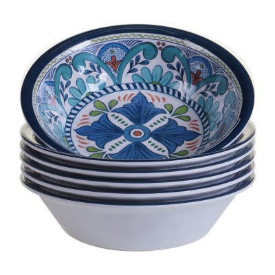Certified International Talavera 6-pc. Ice Cream Bowl