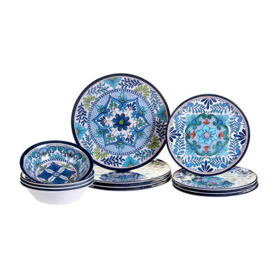Certified International Talavera 12-pc. Dinnerware Set
