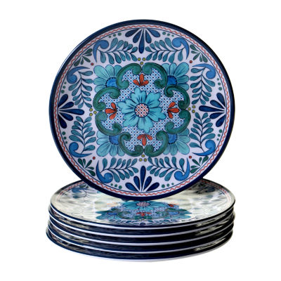 Certified International Talavera Salad Plate