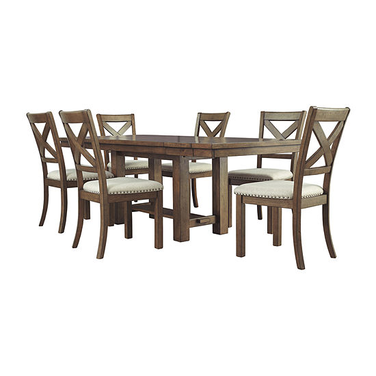 Signature Design by Ashley® Kavarna 7-Piece Dining Set
