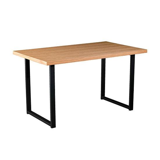 Brayland Rectangular Wood-Top Dining Table