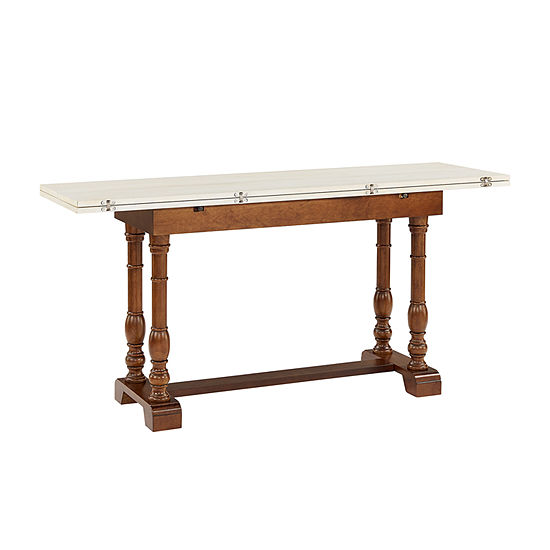 Southern Enterprises Micobo Table Rectangular Wood-Top Dining Table