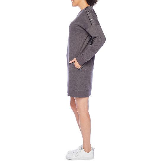 Xersion Long Sleeve T-Shirt Dress