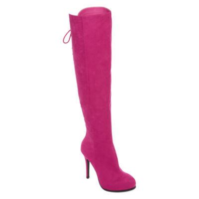 2 Lips Too Lifted Womens Over the Knee Boots