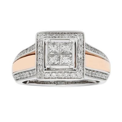 Womens 7/8 CT. T.W. White Diamond 14K Gold Bridal Set