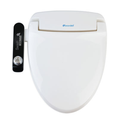 Brondell Swash Ecoseat 100 Elongated Toilet Seat Bidets