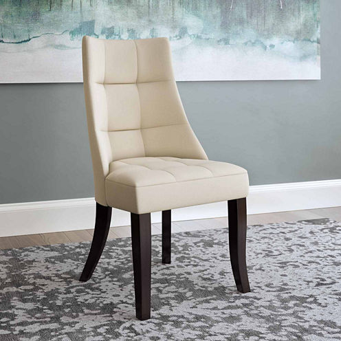 Antonio Tufted Dining Accent Chairs Set Of 2