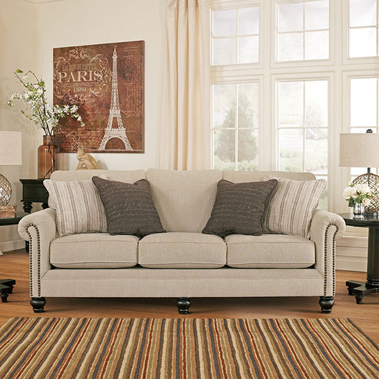 Pleasing Signature Design By Ashley Milari Queen Sofa Sleeper Beutiful Home Inspiration Truamahrainfo