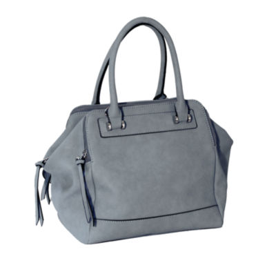 Dot Dash Martina Triple Zip Satchel