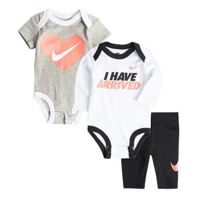 Nike 3-pc. Pant Set Baby Girls