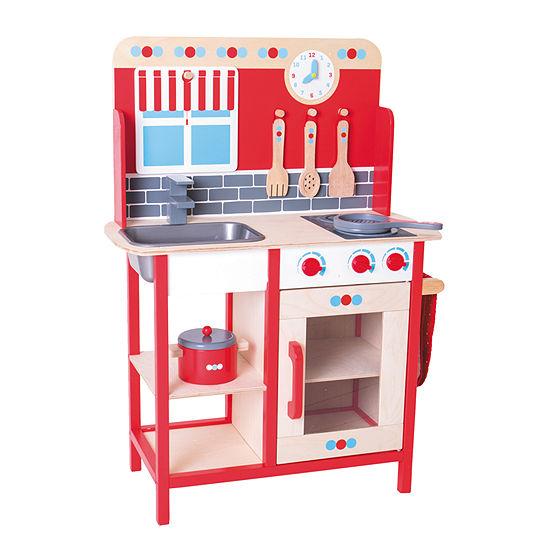 Bigjigs Toys - Play Kitchen