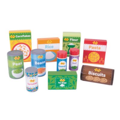 Bigjigs Toys - Wooden Cupboard Groceries