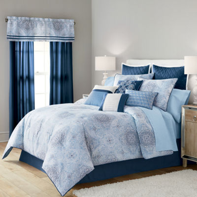 Home Expressions Kinsley 14-pc. Comforter Set & Accessories