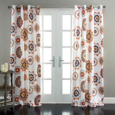Lush Decor Adrianne Room Darkening Curtain Panel