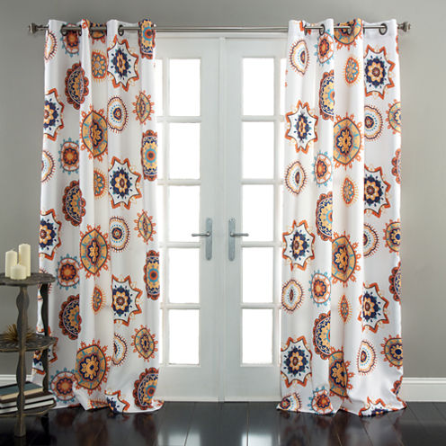 Lush Decor Adrianne Room Darkening Curtain Panel
