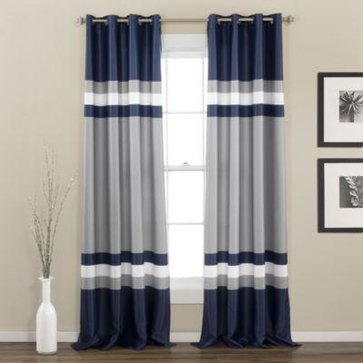 Lush Decor Alexander Room Darkening Curtain Panel