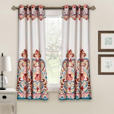 Lush Decor Clara Room Darkening Curtain Panel