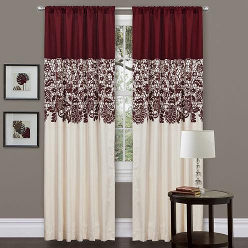 Lush Decor Estate Garden Curtain Panel