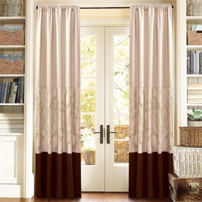 Lush Decor Hester Curtain Panel