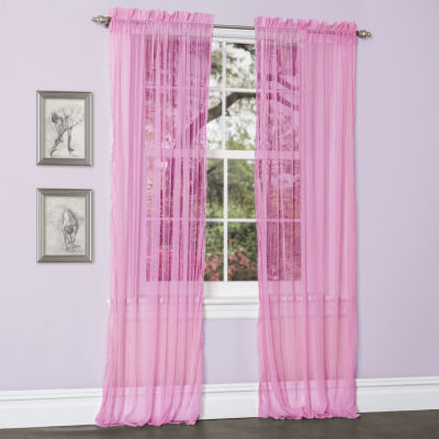 Lush Decor Lola 2-Pack Curtain Panel