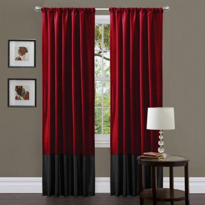 Lush Decor Milione 2-Pack Curtain Panel