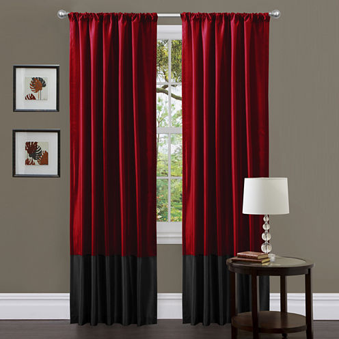 Lush Decor Milione 2-Pack Curtain Panel