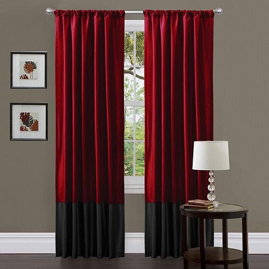 Lush Decor Milione Curtain Panel