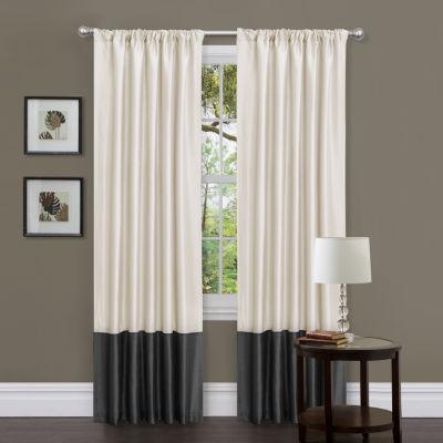 Lush Decor Milione Fiori 2-Pack Curtain Panel