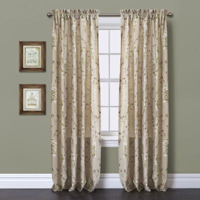 Lush Decor Roslyn Curtain Panel