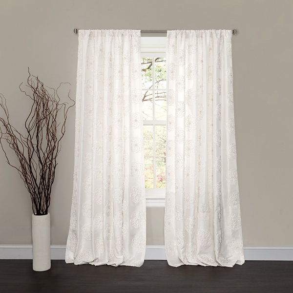 Lush Decor Samantha Curtain Panel