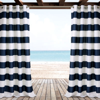 Lush Decor Stripe Curtain Panel
