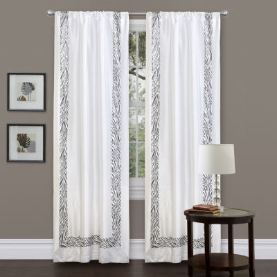 Lush Decor Urban Savanna Curtain Panel