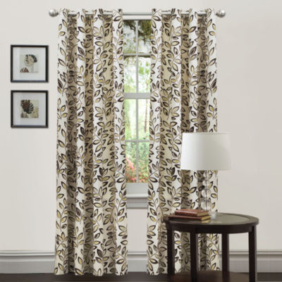 Lush Decor Ventura Curtain Panel