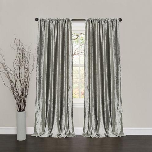 Lush Decor Velvet Dream 2-Pack Curtain Panel