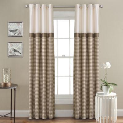 Lush Decor Waldorf Curtain Panel