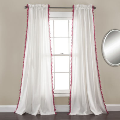 Lush Decor Urban Tassel 2-Pack Curtain Panel