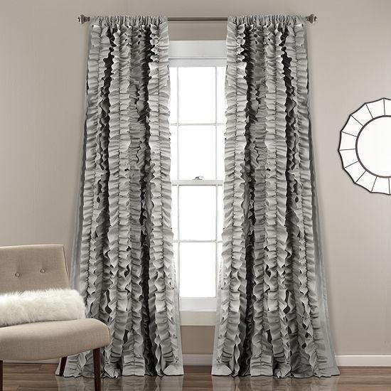 Lush Decor Belle Curtain Panel