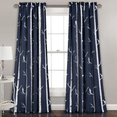 Lush Decor Bird On The Tree Multi-Pack Curtain Panel
