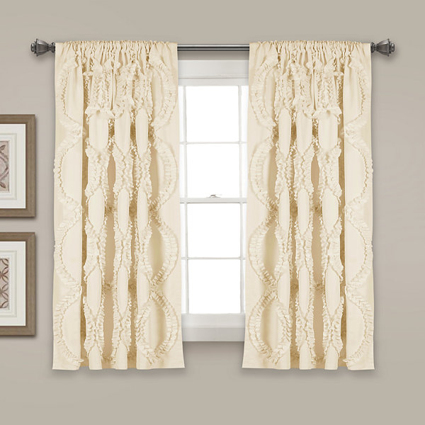 Lush Decor Avon Curtain Panel