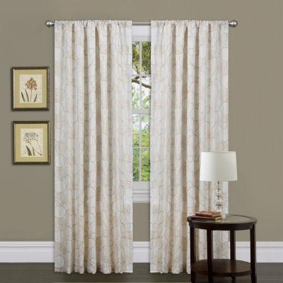 Lush Decor Circle Charm Curtain Panel