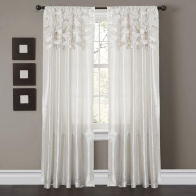 Lush Decor Circle Dream 2-Pack Curtain Panel