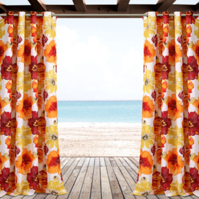 Lush Decor Leah Curtain Panel
