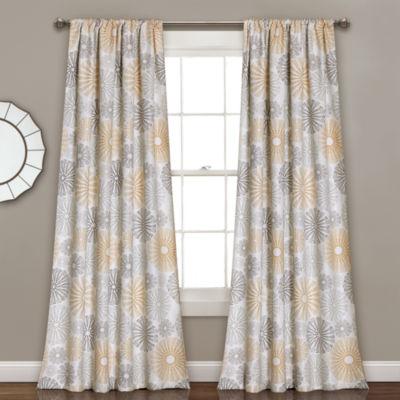 Lush Decor Multi Circles Multi-Pack Curtain Panel