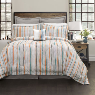 Lush Decor Abby Comforter 6Pc Set