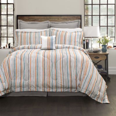 Lush Decor Abby Comforter 6Pc Set