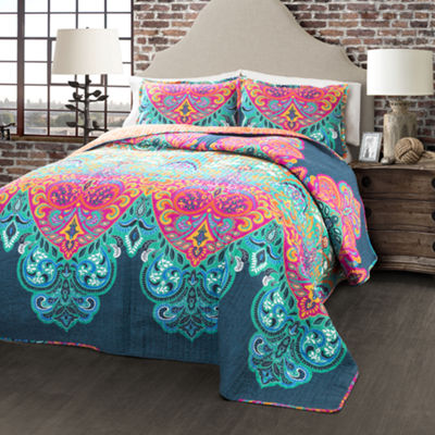 Lush Decor Boho Chic 3pc Quilt Set