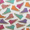 Lush Decor Canvas Shoes 3pc Quilt Set