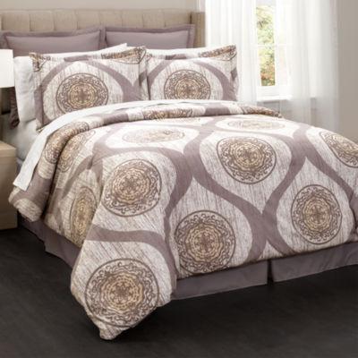 Lush Decor Mari Comforter 6Pc Set
